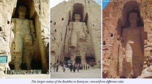 Bamiyan Buddha, Afghanistan (Doesn't Exist now)