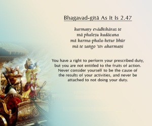 Bhagavad-gita As It Is 2.47