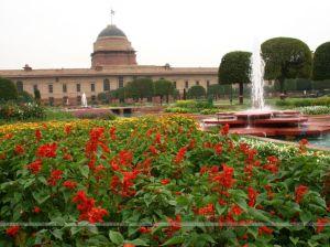 Mughal Gardens in Rashtrapati Bhavan