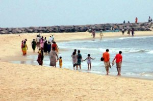 Panambur Beach - Rocky & Dangerous
