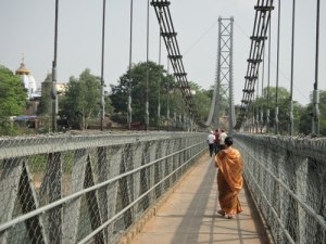 Hanging Bridge of Dhableshwar 245 ft long