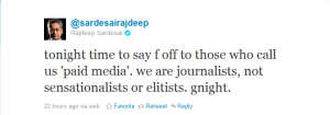 Rajdeep F word