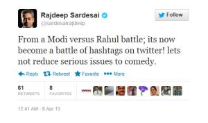 Ok!Uncle errr... Old Monk St Rajdeep. If anyone vitiates debates it is CNN-IBN