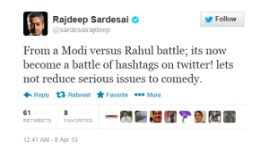 Ok!Uncle errr... Old Monk St Rajdeep. If anyone vitiates debates it is CNN-IBN
