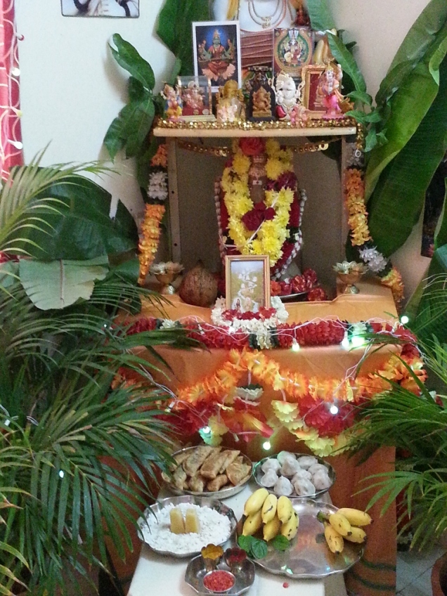 Ganesha at home - A few years back