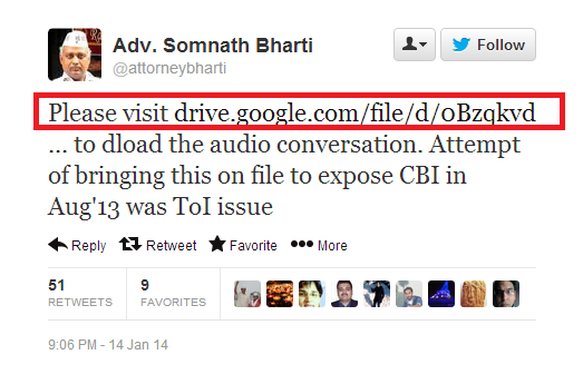 SomnathBharti-GoogleDrive