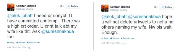 Abhisar-Threatening