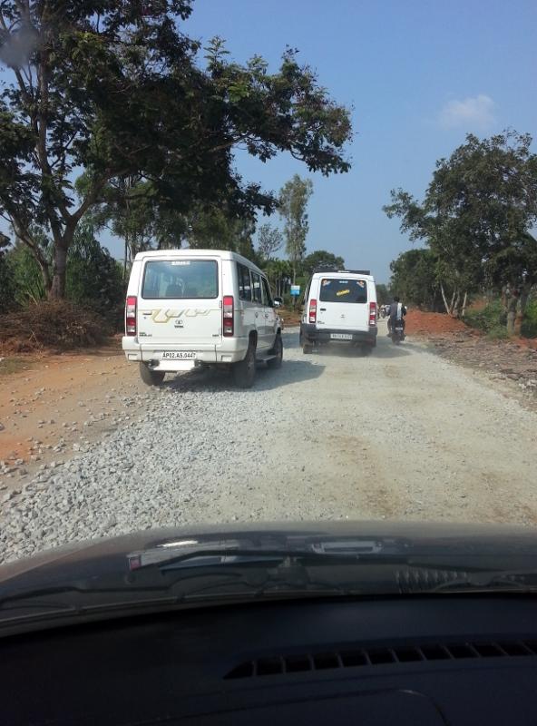 1km Stretch - Road Under Construction.