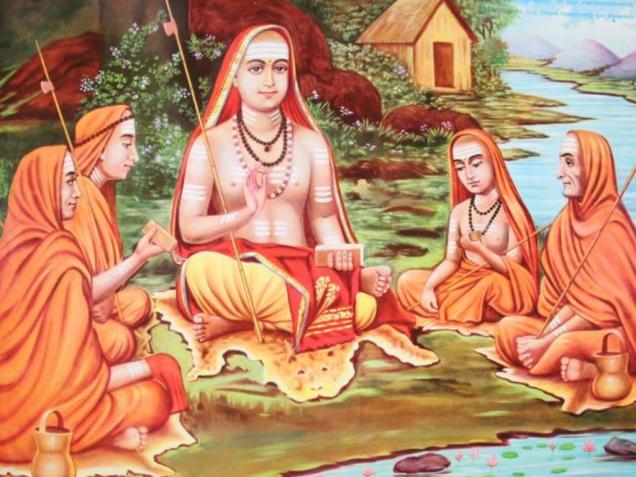 ShankaracharyaWithDisciples