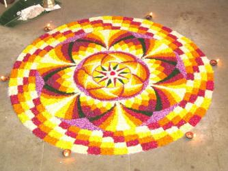 Day 3 Pookalam